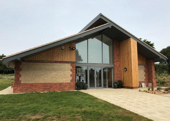 Trimingham Village Hall in North Norfolk