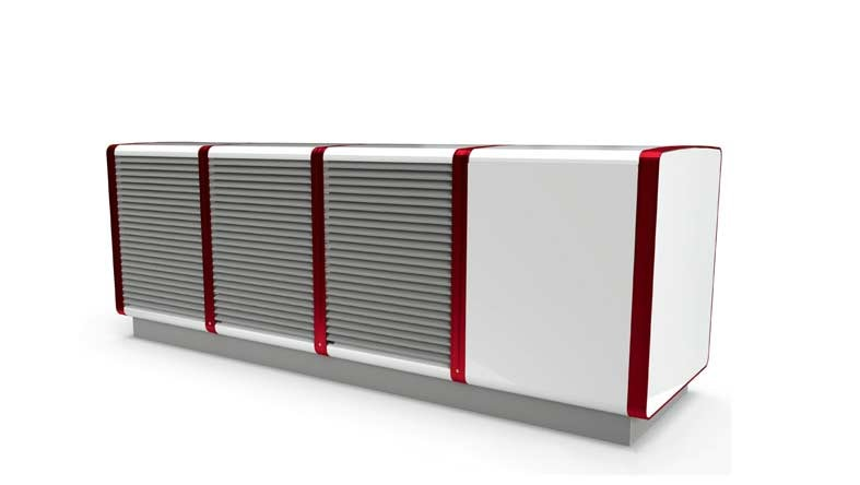 Earth Save Products has introduced a new air to water unit from Heliotherm