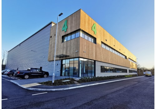 The new Brymec distribution centre near Gatwick