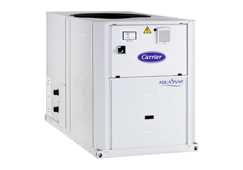 The Carrier AquaSnap 30RBS chiller