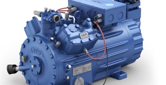 The HGX44e CO2 compressor from GEA Bock