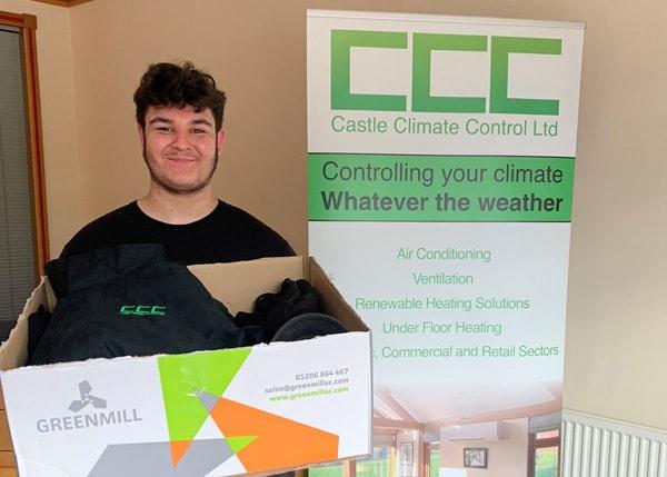 Kieran Rhodes of Castle Climate Control