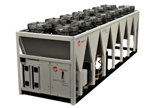 Trane's new Sintesis RTAF XSE chiller
