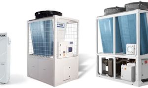 Wolseley is stocking YORK chillers, heat pumps and rooftop packages