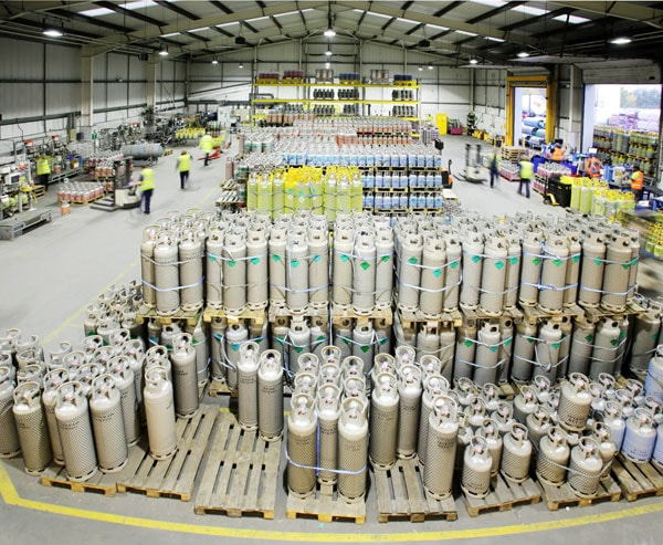 A-Gas continues to invest in its cylinder fleet to ensure that all types of refrigerant are available to the customer
