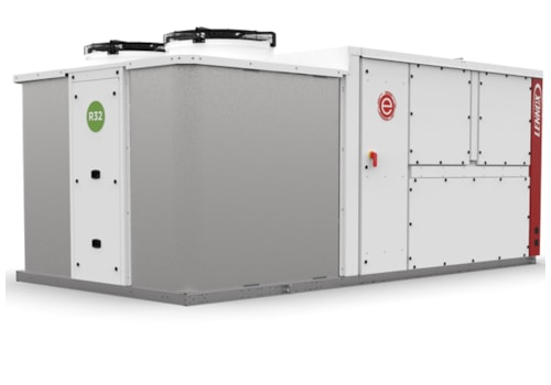 The e-Baltic R32 rooftop unit from Lennox