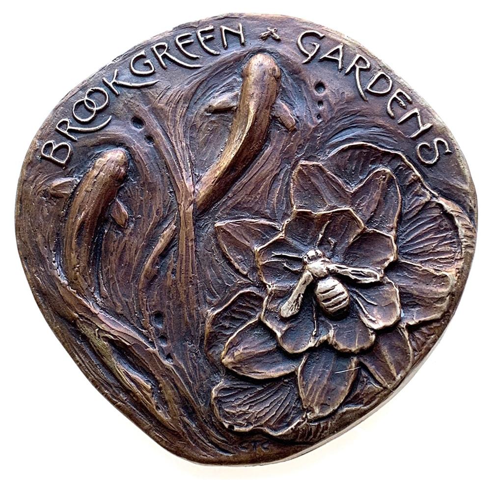 Final cast bronze medal