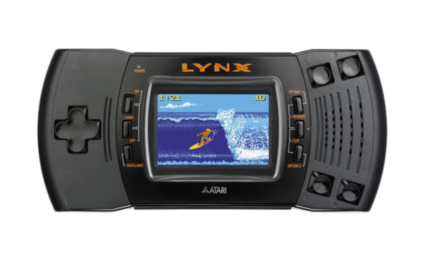Released in 1991, the Atari Lynx II represented the company's failed attempt to beat Nintendo's Game Boy in the handheld market