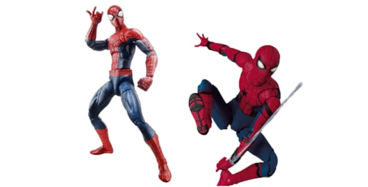 The first incarnation of Spider-Man to emerge from Hasbro's reinvention of the Marvel Legends line in 2014 was based on the second Amazing Spider-Man film