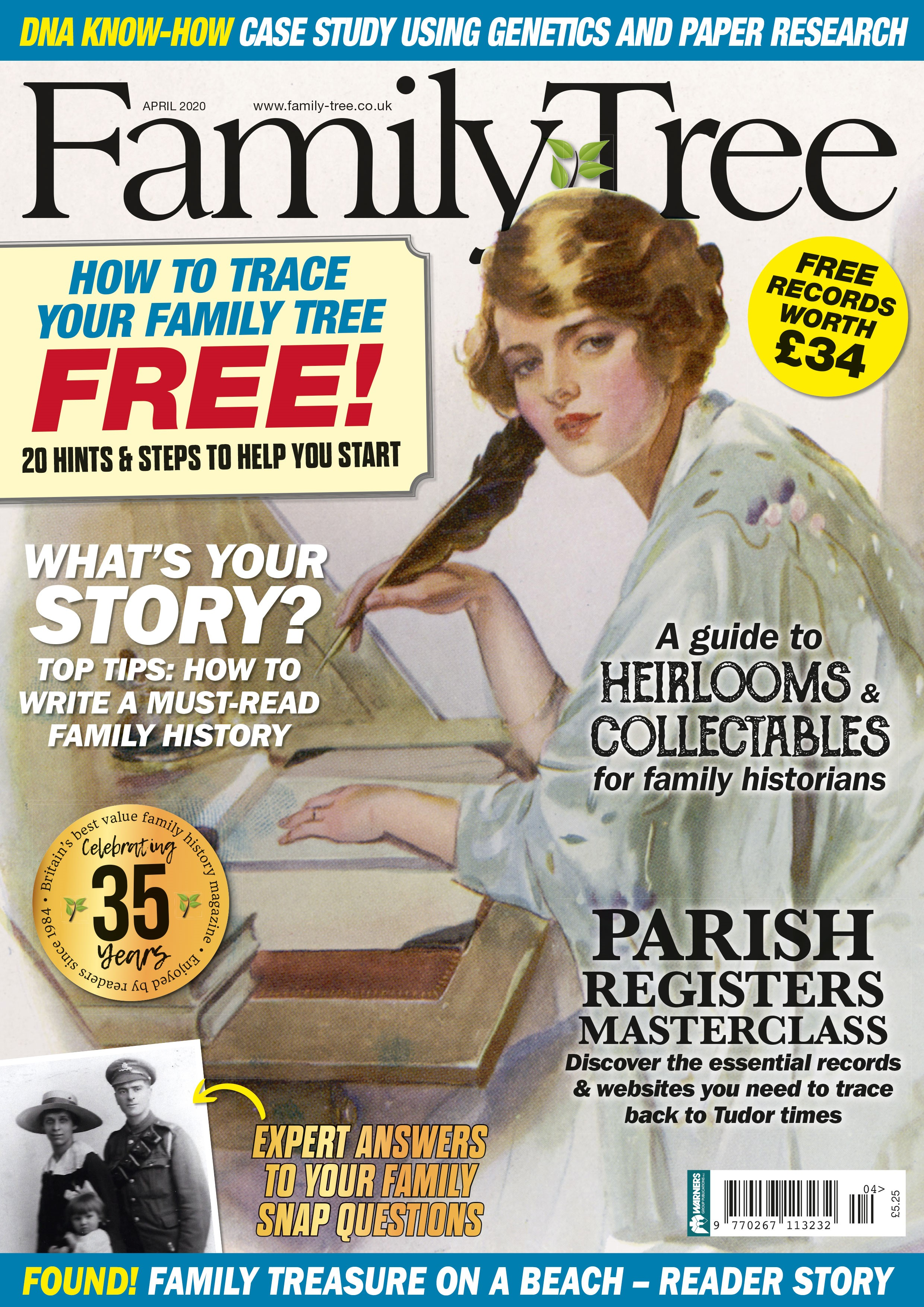 Buy Family Tree today with free UK delivery