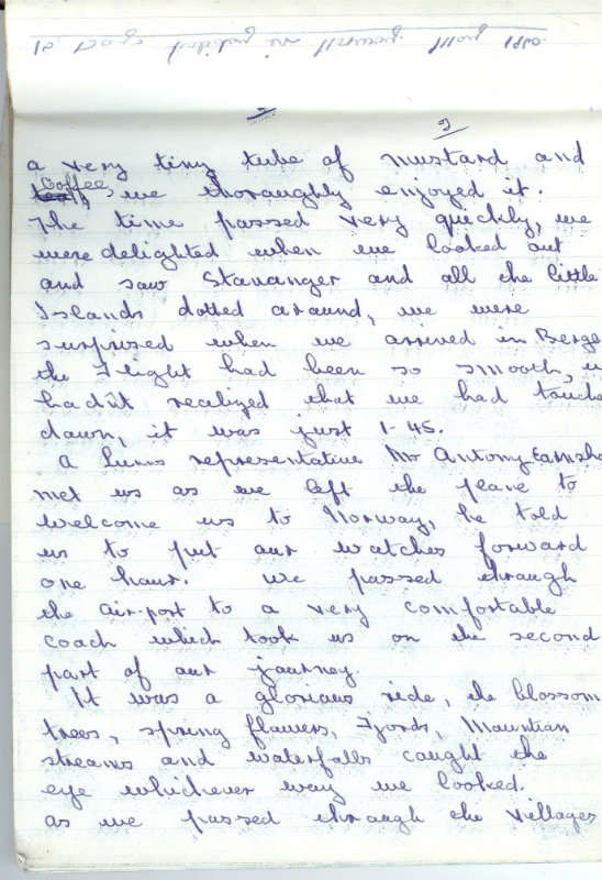 Handwritten jpurnal