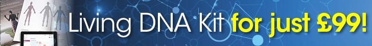 Living DNA test kit