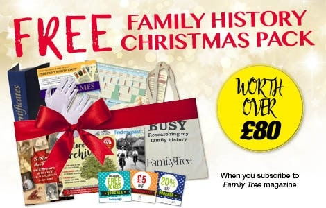 Family History Christmas Pack
