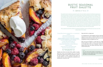 French Pastry spread 1