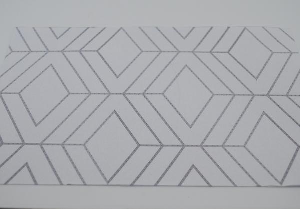 geometric cake template