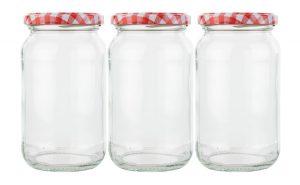 gingham jars British