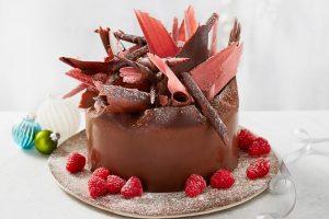 ocado christmas, festive desserts