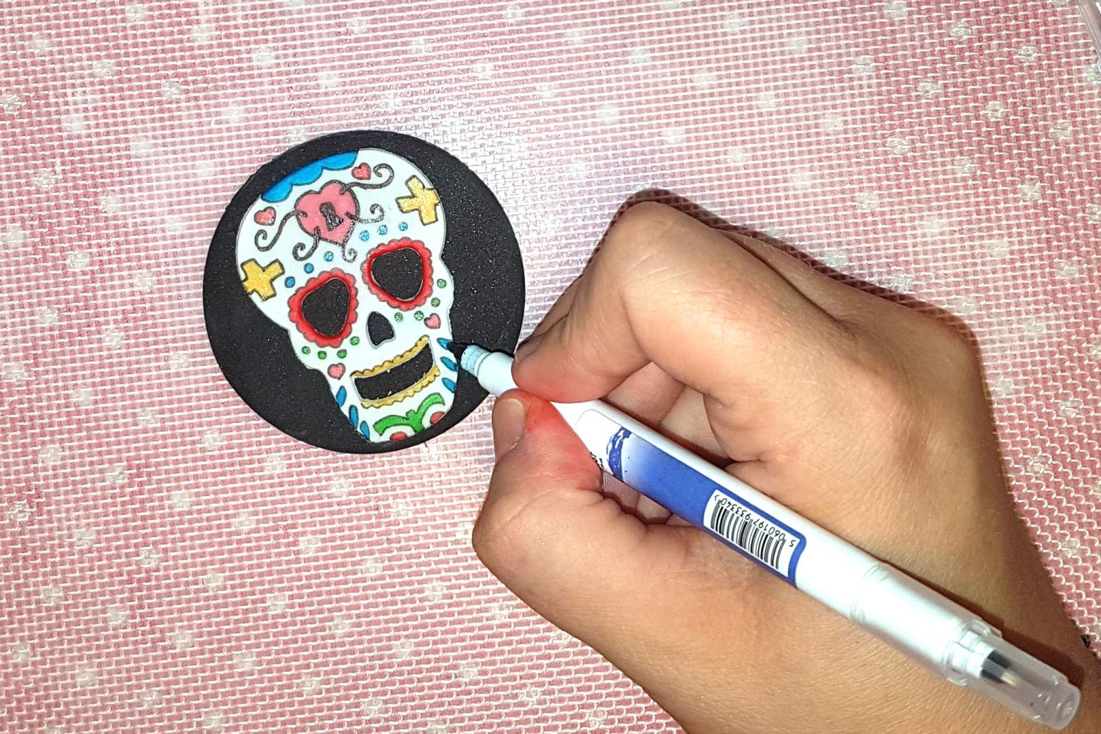 Sugar skull step 10