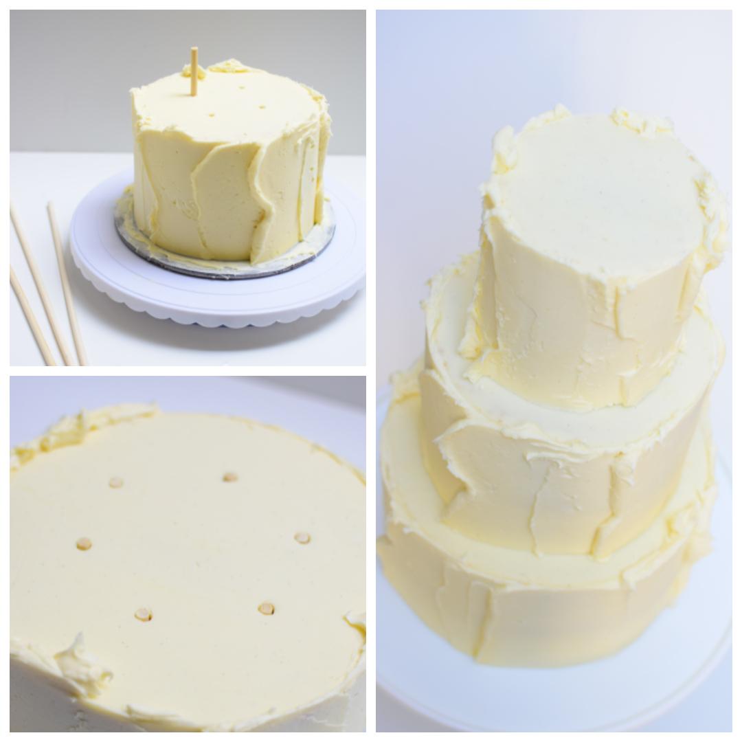 Prince Harry Meghan Markle tala wedding cake