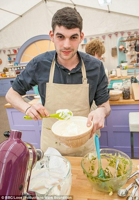 Meet Bake Off contestant, Michael Georgiou