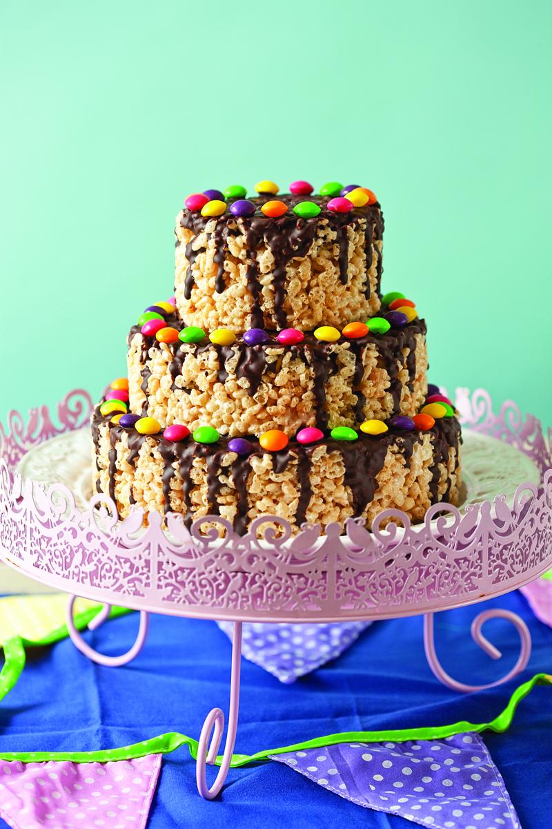 Rice Krispies Sweetie Cake