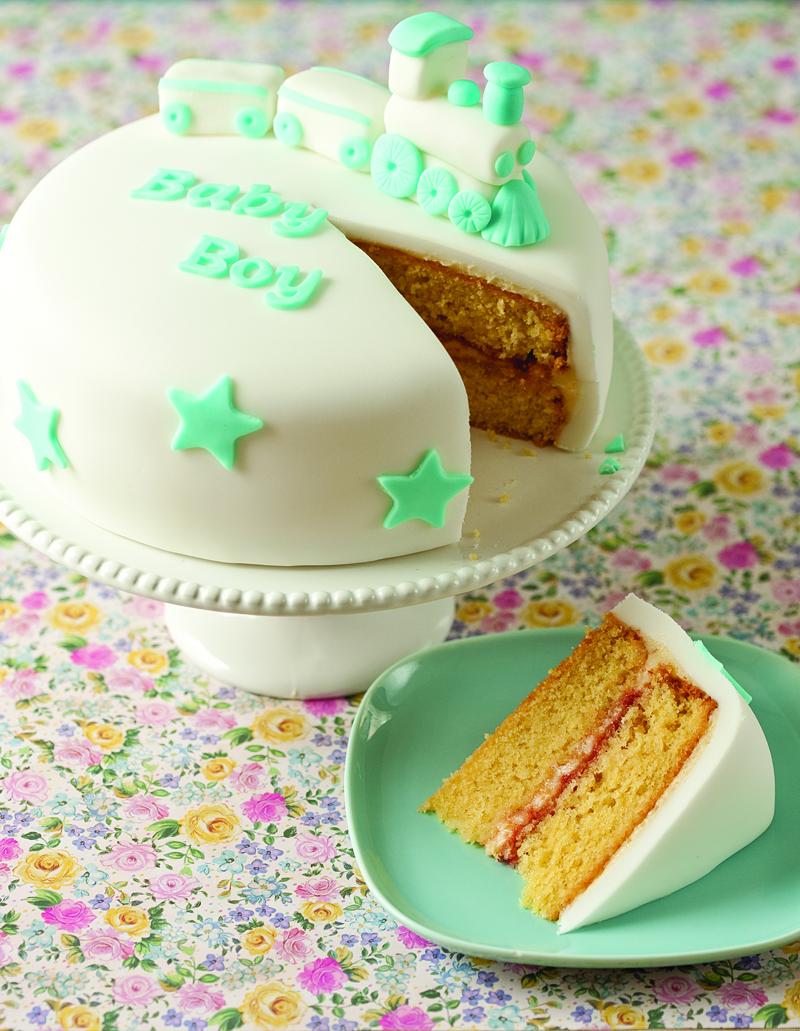 Sticky Lemon Celebration Cake