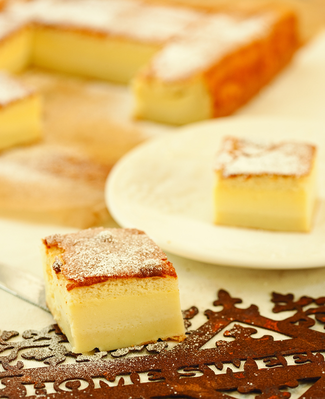 What is magic cake?