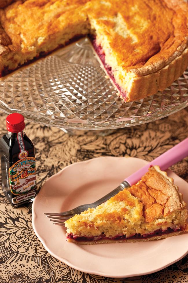 blackcurrant tart