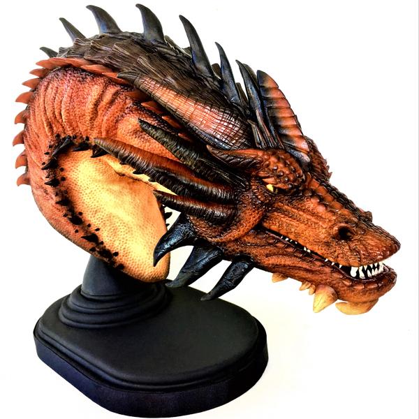 Ana Remígio's dragon creation, Smaug