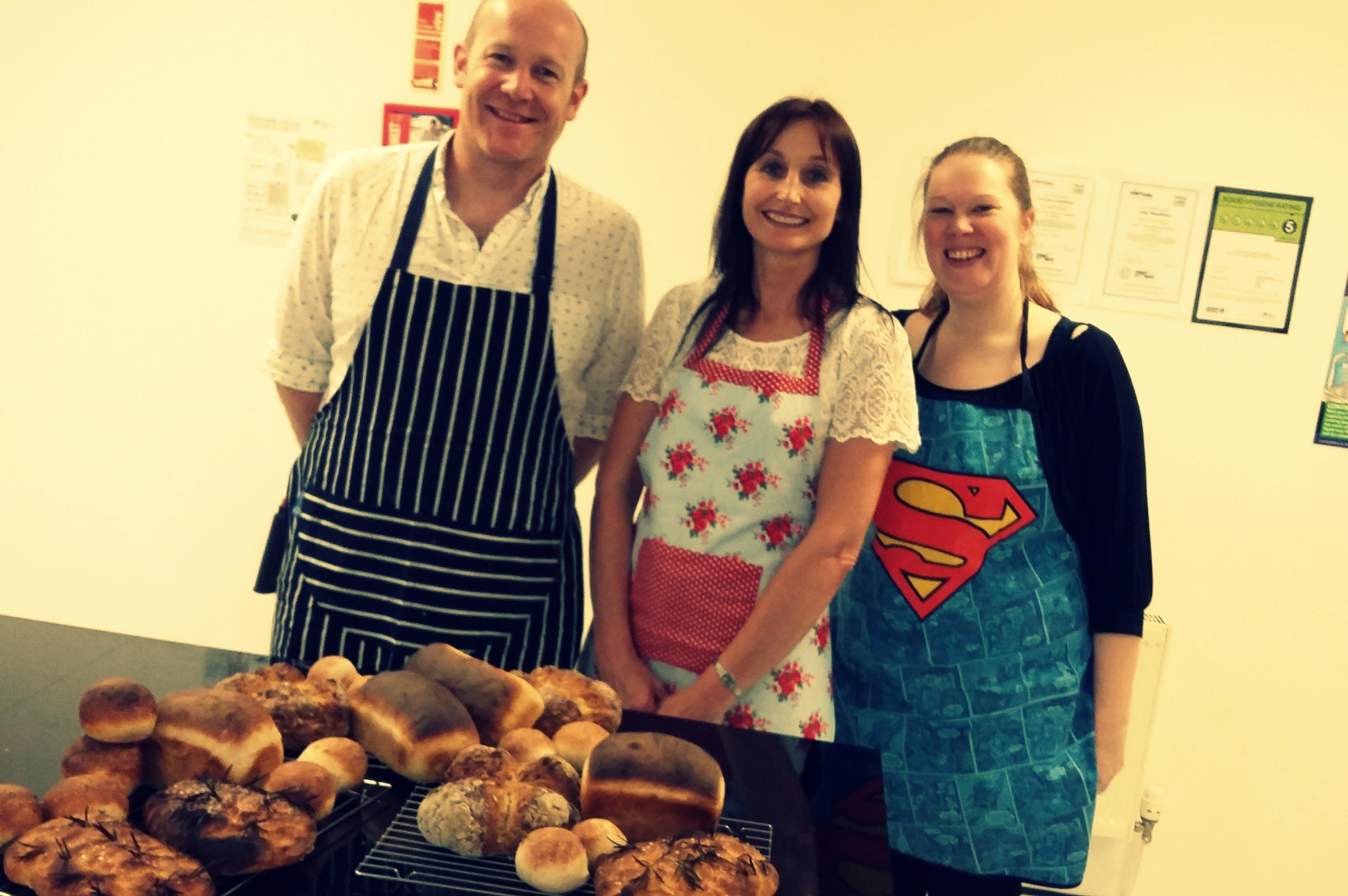 4. The Epsom Bakehouse class attendees