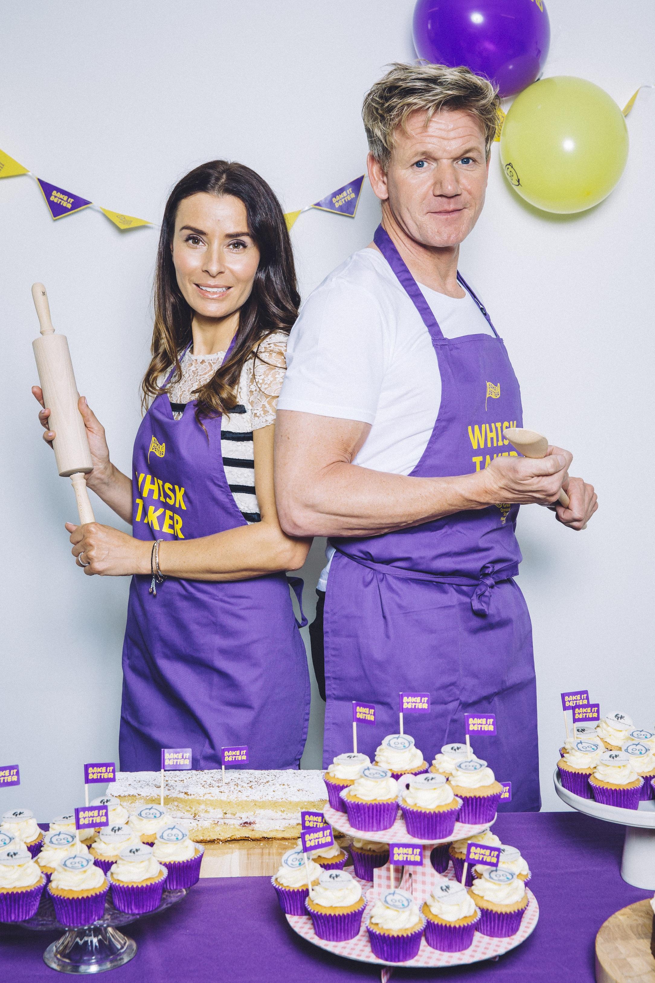 Gordon and Tana Ramsay knead you!