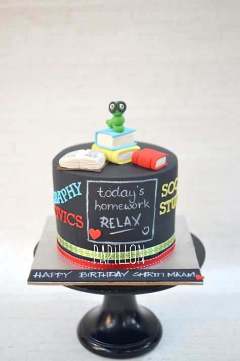 10 Cakes to Say Thank You to your Terrific Teachers