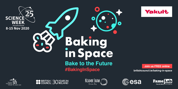 Baking in space 2020 graphic