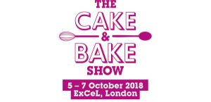 Cake and Bake logo neon pink