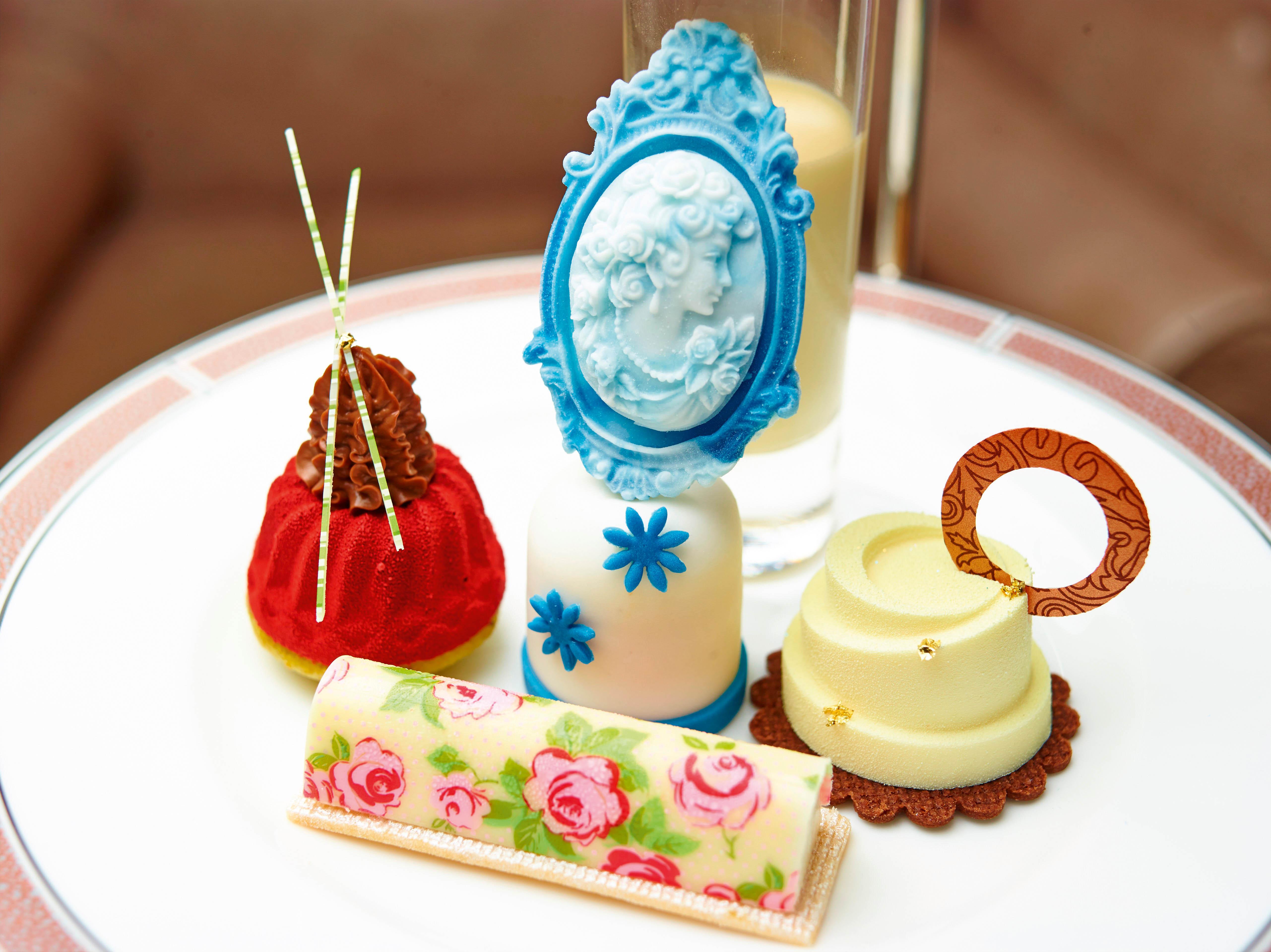 Cherish Finden miniature cakes and pastries