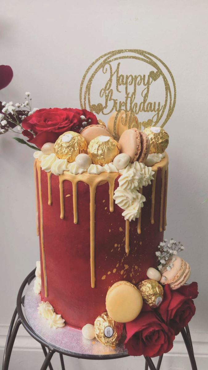 lissielou custome cake circle