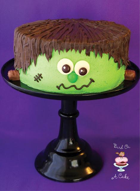 Frankenstein Monster Cake logo