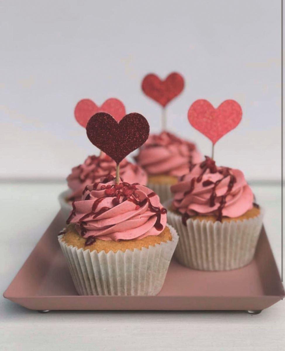 Lissielou heart cupcake