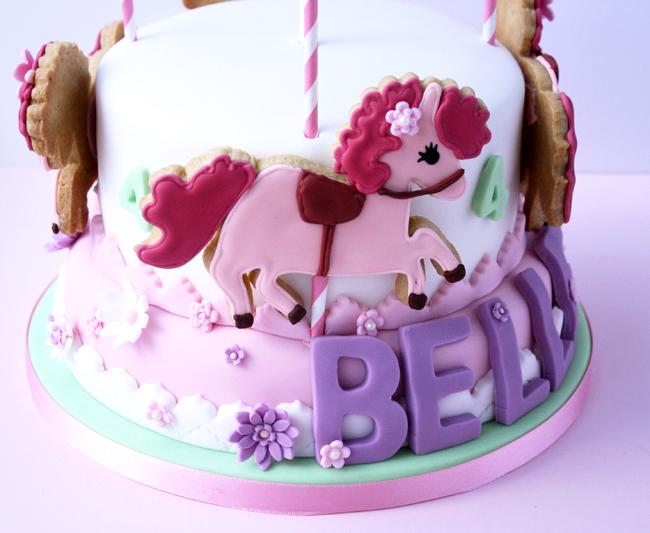 merry-go round cake