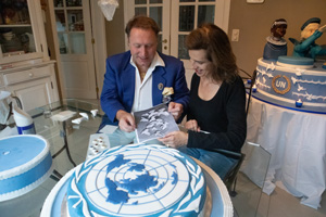 Michael's cake teaching