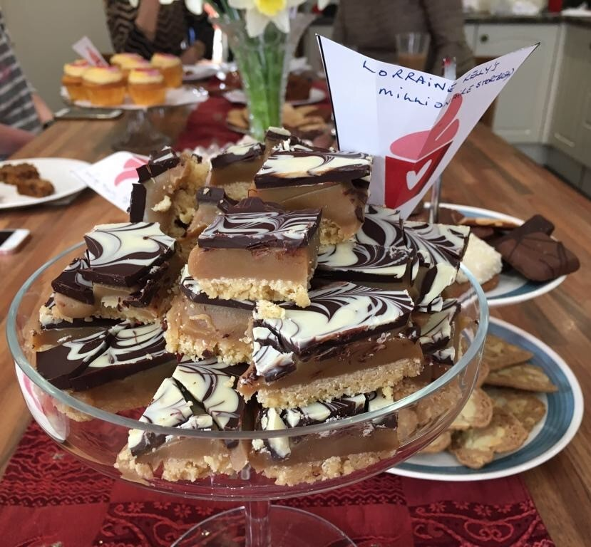 eve appeal make time for tea charity fundraising baking