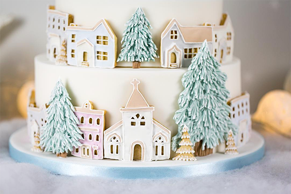 alternative Christmas cake