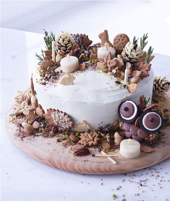 alternative christmas cakes