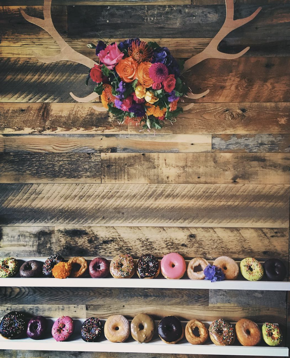 Why is everyone posting pictures of these donut walls?