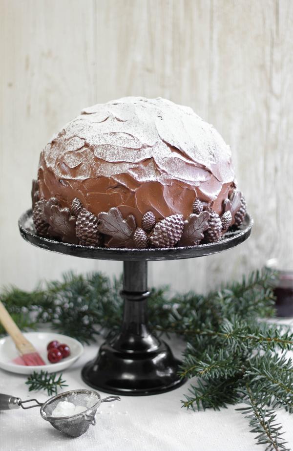 SprinkleBakes Black Forest Dome Cake