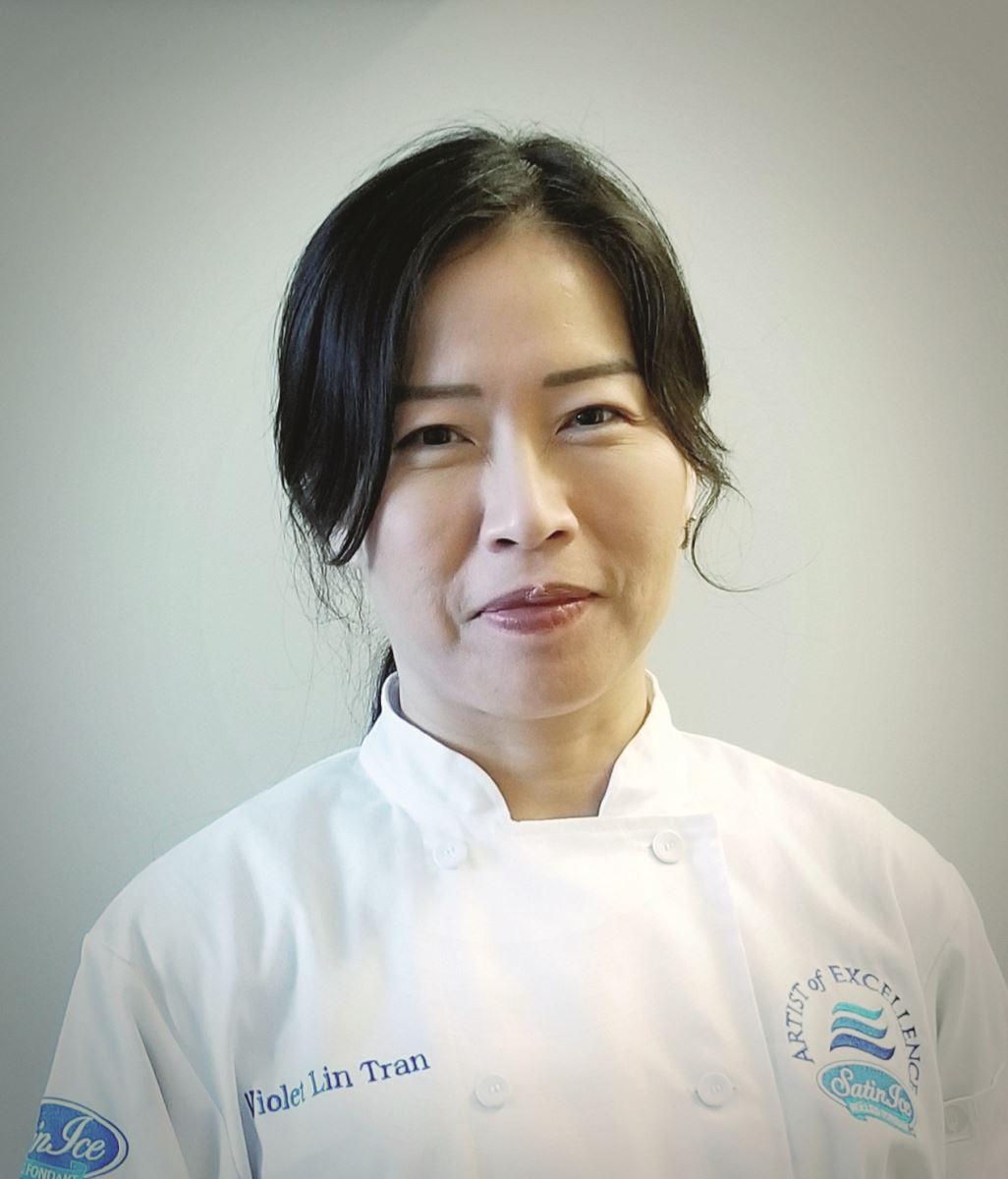 Violet Lin Tran: Cake designer and Satin Ice Artist of Excellence