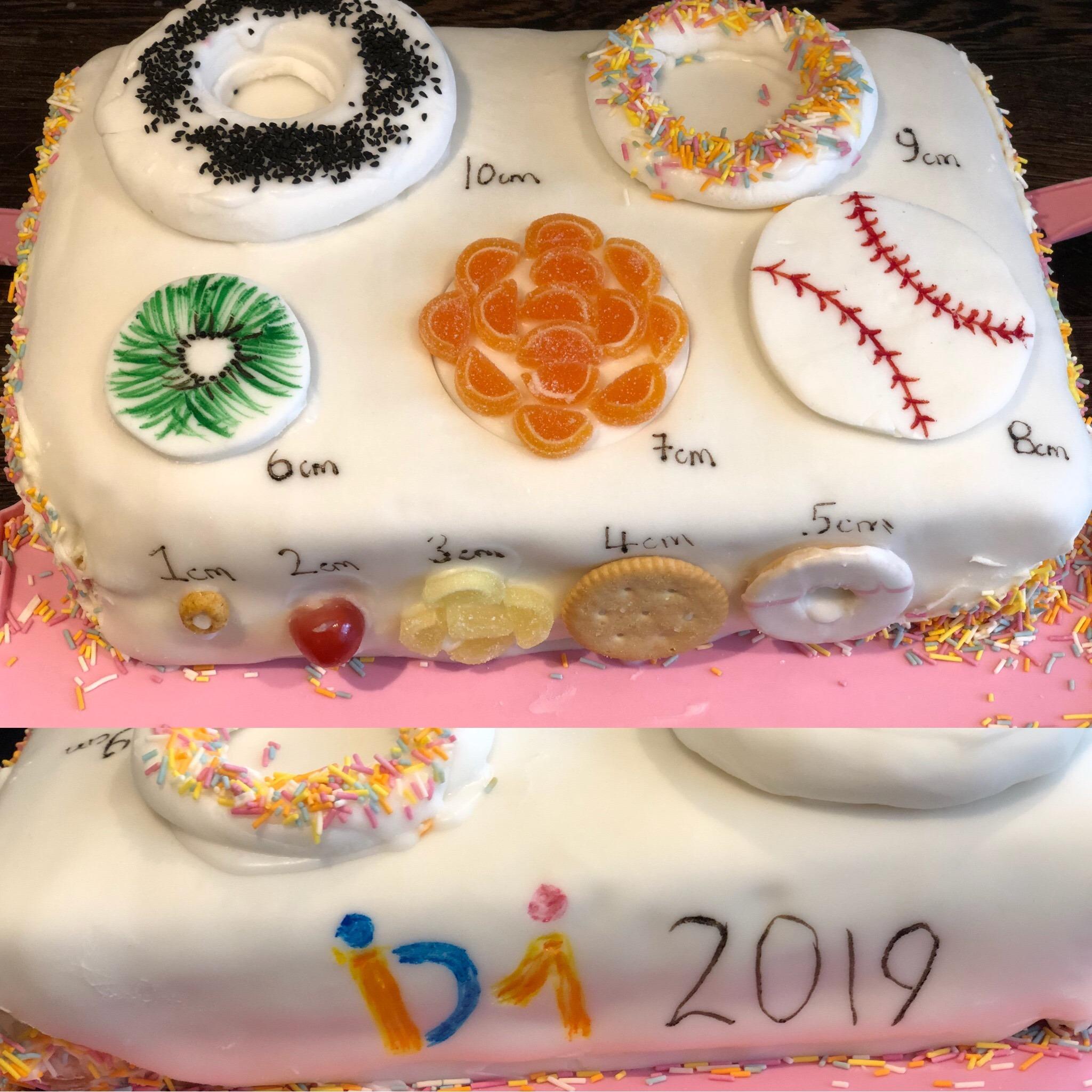 RCM dilation cake