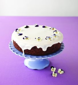 spring-flower-fruit-cake
