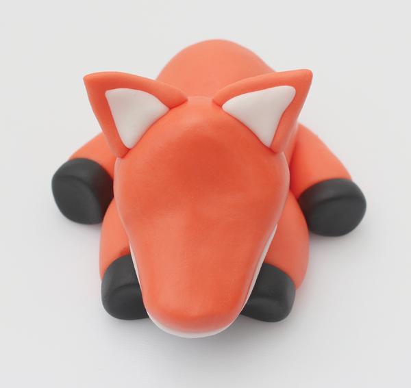 fondant fox