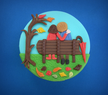 Autumn cupcake Sarah Harris 458
